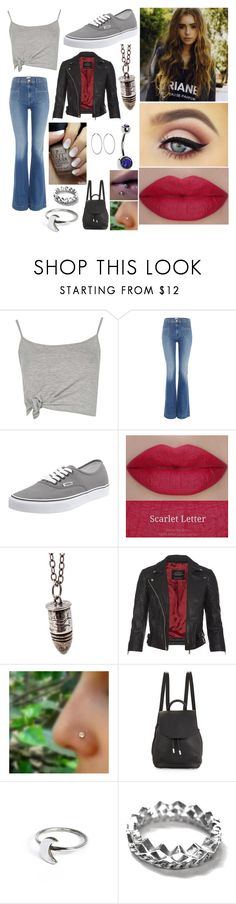 """Kane"" by katherine19985 ❤ liked on Polyvore featuring Boohoo, Hudson Jeans, Vans, AllSaints, rag & bone, Holly Ryan, Annabelle Lucilla Jewellery and Sidney Garber"