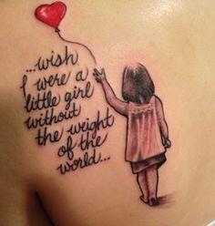 Little Girl Tattoo