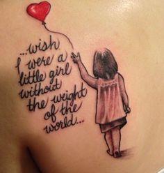 Little Girl Tattoo
