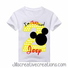 Mickey Mouse T-Shirt, Number Two