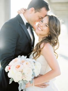 You need to see this adorable couple's seaside San Diego wedding: http://www.stylemepretty.com/vault/gallery/37647 | Photography: Coco Tran - http://www.cocotran.com/