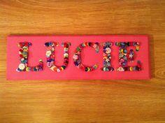 LUCIE Wooden Door Plaque - latest orders