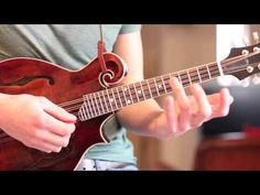 Irish Washerwoman Mandolin Lesson - If you can get past the hair!
