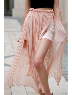 SHARE & Get it FREE | Pleated Chiffon Long SkirtFor Fashion Lovers only:80,000+ Items • New Arrivals Daily Join Zaful: Get YOUR $50 NOW!
