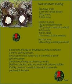 Christmas Candy, Christmas Baking, Christmas Cookies, Czech Recipes, No Bake Cake, Fondant, Food And Drink, Sweets, Pokemon