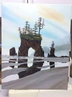 Oil 16 x 20 Mount Rushmore, Oil, Mountains, Nature, Painting, Travel, Naturaleza, Viajes, Painting Art