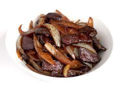 La Cuisine de Bernard: Le Bœuf Sauté aux Oignons Le secret de tendresse de la viande de boeuf dans les plats asiatiques.