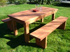 Furniture U0026 Accessories, Redwoods Design Of Free Outdoor Furniture Bench  And Table Ideas Free Outdoor