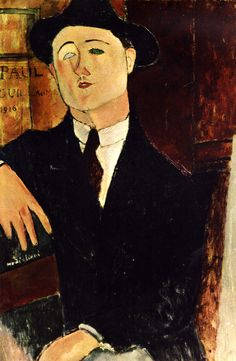 Portrait of Paul Guillaume - 1916 Art Print by Modigliani Amedeo. All prints are professionally printed, packaged, and shipped within 3 - 4 business days. Amedeo Modigliani, Modigliani Paintings, Italian Painters, Italian Artist, Canvas Art Prints, Oil On Canvas, Chaim Soutine, Atelier D Art, Oil Painting Reproductions
