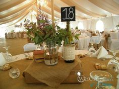 Wedding Trend by Weck Events & Weddings:   TENT DRAPING  oh la la! Fabulous!
