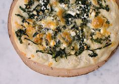 11 Quick and Easy Ways to Cook with Kale: BA Daily: Bon Appétite/ kale flatbread