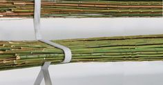 Bamboo bench by Gal Ben Arav furniture 2 eco