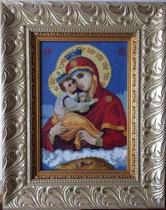 Icon The Mother Of God Pochaev