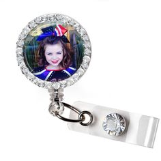 Custom Photo Badge Reel, Made with your Favorite Picture! Police Gifts, Nurse Gifts, Nursing Accessories, Retractable Badge Holder, Nurse Badge, Name Badges, Badge Reel, Badge Holders, Custom Photo