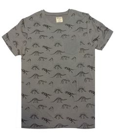 AMNH Shop | Adult Dinosaur Fossils Pocket Tee - Adult - Clothing & Accessories - Category