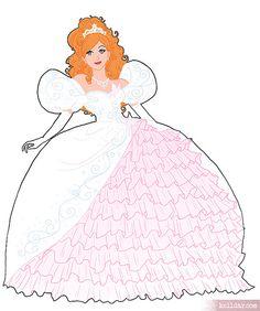 Giselle's Wedding dress by Kelldar