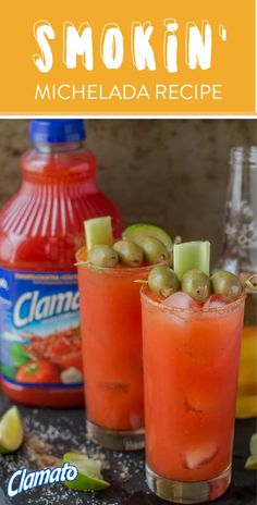 A little Mexican beer in your favorite savory drink makes for one delicious signature cocktail. That's why this recipe for a Smokin' Michelada is sure to become a go-to party and brunch beverage during summer! Make this spicy combination for your friends using Clamato®, vodka, horseradish, hot sauce, ice, and lime juice. Cheers to party drinks with plenty of mouthwatering flavor! Pick up all the items you need at your local Albertsons, Safeway, Pavilions, Tom Thumb, or Vons store.