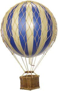 Authentic Models Floating the Skies Hot Air Balloon Replica