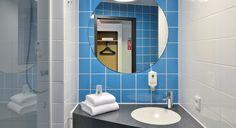 Badezimmer im B&B Hotel Konstanz