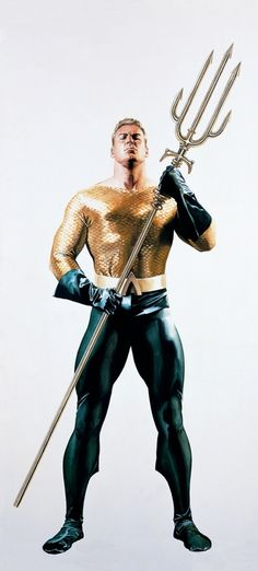 Alex Ross- Aquaman