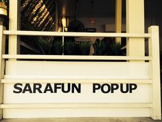 Sarafan PopUp shop
