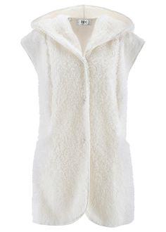 Kožušinková vesta s kapucňou Extra • 14.99 € • bonprix