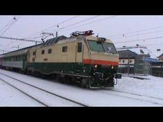 Lokomotiva 151 023-9 v Ostravě Svinov 9.1.2010 - YouTube