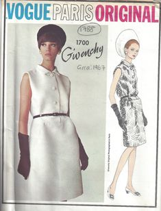 For many more Vintage Sewing and Knitting patterns visit my eBay shop 'The Vintage Pattern Shop' ITEM DESCRIPTION: ~ Please Note: You are buying a 'Professional Digitally Reproduced' …