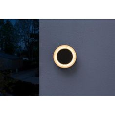 4058075074897 Ledvance wandlamp rond 13W 3000K Grijs IP54 Celestial, Led, Outdoor, Taps, Outdoors, Outdoor Games, The Great Outdoors