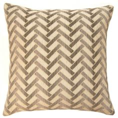 Dakota Grid Pillow in various sizes design by Square feathers ($213) ❤ liked on Polyvore
