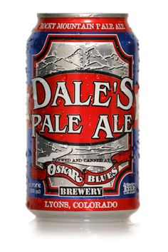 New cans?  Dale's Pale Ale. Oskar Blues.