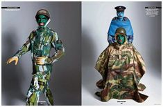 Sport & Street #75 Cover Shoot Inspired by Leigh Bowery