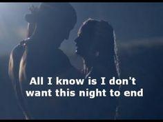 "Luke Bryan ""I Don't Want This Night To End"" LYRICS MUSIC VIDEO - YouTube"