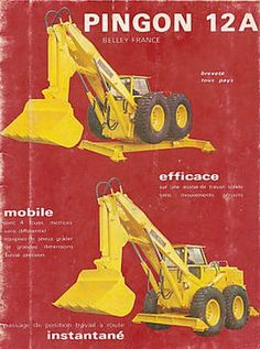 Pingon Heavy Construction Equipment, Heavy Equipment, Biggest Truck, Mining Equipment, Big Trucks, Crane, Vintage Cars, Military, Cool Stuff