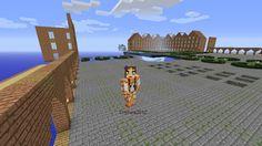 Orphea2012 Youtube et Minecraft: Minecraft   Orphea2012 au dessus de sa place géant...