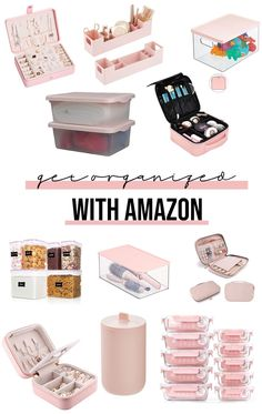 Need to get your home more organized? These budget friendly organization items from Amazon will help you achieve your minimalism look and get your household tidy, clean and organized. #organizationtips #organizingtips #homehacks #homeorganization #getorganized