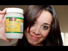 Lo mejor para el cabello: Aceite de Coco ( Extra virgen)
