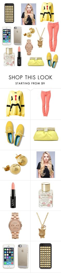 """""""#o5"""" by na-heul ❤ liked on Polyvore featuring Daniel Palillo, Keds, Oscar de la Renta, NYX, Lollia and Marc by Marc Jacobs"""