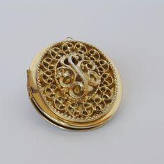 1960s Vintage Perfume Locket by JanesAromaScents on Etsy