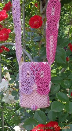 "Macrame Handbag ""May"""