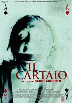 "Card player ""Il Cartaio"" (Dario Argento) 2004"