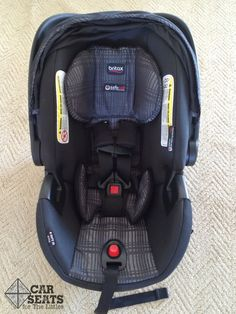 Britax BSafe 35 Elite rear facing only car seat review. Check out the simple installation methods and easy to adjust harness!