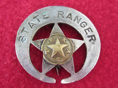 The search for a r e a l Texas Ranger badge is the collecting version of the Agony and the Ecstasy. and mostly agony . Texas Rangers Law Enforcement, Law Enforcement Badges, Jim Webb, Tx Rangers, Old West Outlaws, Real Cowboys, Wild West, Historical Photos, Police Badges