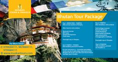 People don't want to go to the dump and have a picnic, they want to go out to a beautiful place and enjoy their day.  So we are here with a fantastic 4days package of #BHUTAN #TOURS. To avail it, contact: +91-9799284111 OR visit our site- http://www.muskantours.com/