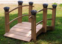 garden bridges images   Garden Bridges with Solar Lights, Low Arched or High Arched
