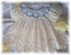 Dainty Doily Baby Dress  Crochet Pattern on Etsy, $4.99