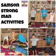Samson strong man activities