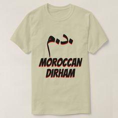 درهم د.م. Moroccan dirham grey T-Shirt #moneysymbol #currencysymbol #currency #asiancurrency #درهم #TShirt Types Of T Shirts, Color Negra, Moroccan, Funny Tshirts, Shirt Style, Fitness Models, Words, Grey, Casual