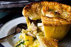 Chicken, leek and brie pies recipe, NZ Herald – foodhub.co.nz
