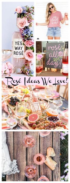 Rosé ideas we love! - B. Lovely Events 30th Party, Adult Birthday Party, Birthday Table, 30th Birthday, Party Themes, Party Ideas, Event Ideas, Yes Way Rose, Rose Cookies